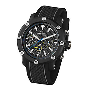TW Steel men's black strap chronograph watch - Product number 2600927