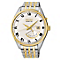 Seiko Men's Kinetic Two Tone Bracelet Watch - Product number 2602334