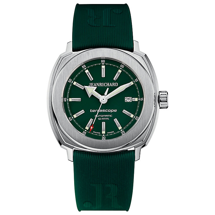 JEANRICHARD men's terrascope strap watch - Product number 2604868