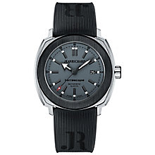 JEANRICHARD  men's terrascope grey strap watch - Product number 2604876