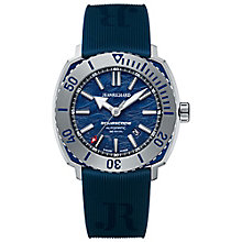 JEANRICHARD men's aquascope blue strap watch - Product number 2605260