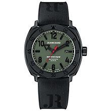 JEANRICHARD men's aeroscope black strap watch - Product number 2605279