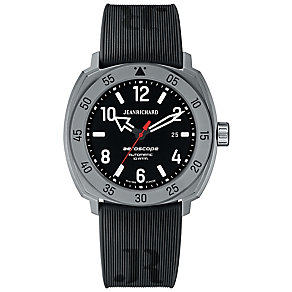 Jean Richard men's aeroscope black strap watch - Product number 2605287