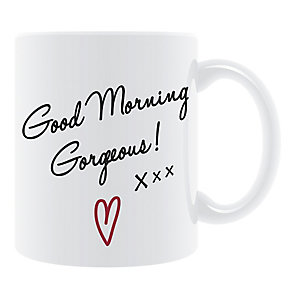 White Good Morning Gorgeous Mug - Product number 2609800