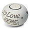 White Love Tea Light Holder - Product number 2609983