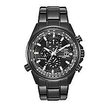 Citizen Eco-Drive Men's Black Ion-Plated Bracelet Watch - Product number 2612151