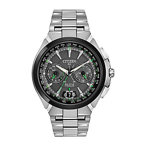 Citizen Satellite Wave men's titanium bracelet watch - Product number 2612194