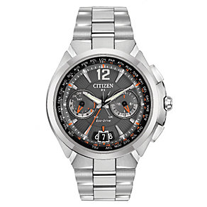 Citizen Satellite Wave men's stainless steel bracelet watch - Product number 2612208
