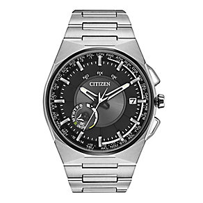 Citizen Satellite Wave Men's Stainless Steel Bracelet Watch - Product number 2612216