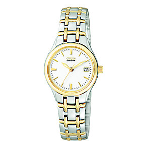 Citizen Eco-Drive Bella ladies' two colour bracelet watch - Product number 2612224