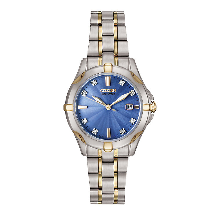 Citizen Ladies' Two Colour Bracelet Watch - Product number 2612240