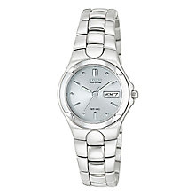 Citizen Eco-Drive Ladies' Stainless Steel Bracelet Watch - Product number 2612259