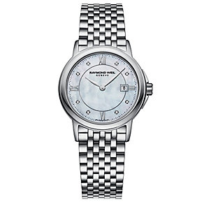Raymond Weil ladies' stainless steel bracelet watch - Product number 2612410