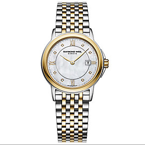 Raymond Weil ladies' two colour bracelet watch - Product number 2612429
