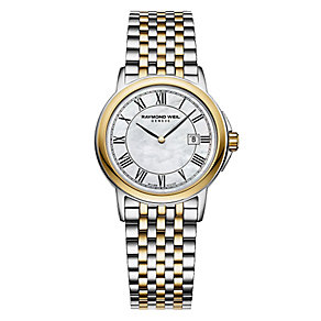 Raymond Weil ladies' two colour bracelet watch - Product number 2612437