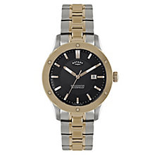 Rotary men's two colour bracelet watch - Product number 2612542