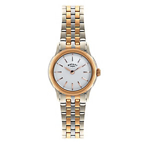 Rotary ladies' two colour bracelet watch - Product number 2612569