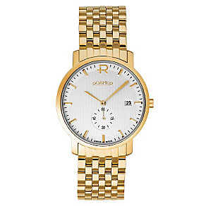 Roamer Odeon men's gold-plated bracelet watch - Product number 2612690