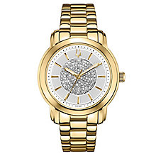 Bulova ladies' gold-plated bracelet Dress watch - Product number 2612992