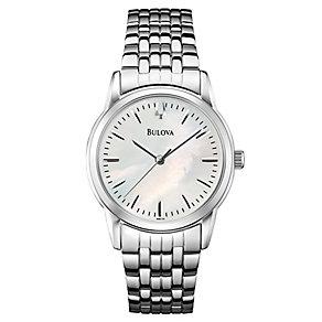 Bulova men's stainless steel bracelet watch - Product number 2613026