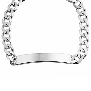 Sterling silver men's ID bracelet - Product number 2613190
