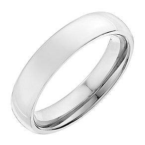 Men's titanium 5mm ring - Product number 2616076