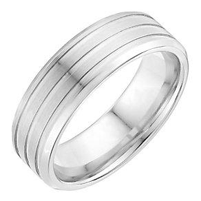 Men's cobalt ridge 7mm ring - Product number 2616599