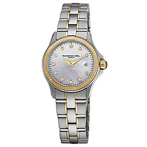 Raymond Weil ladies' two colour bracelet watch - Product number 2621843