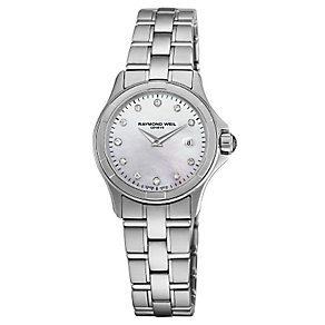 Raymond Weil ladies' stainless steel bracelet watch - Product number 2621851