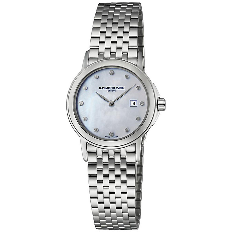 Raymond Weil ladies' stainless steel bracelet watch - Product number 2621908