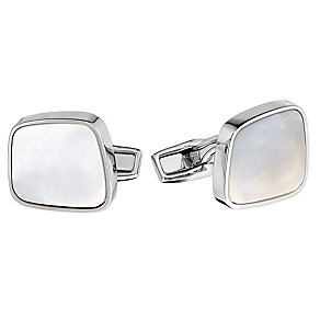 Hugo Boss Liam men's mother of pearl cuff links - Product number 2622041