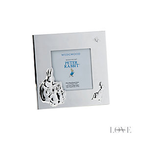 Wedgwood silver plated Peter Rabbit photo frame - Product number 2622424