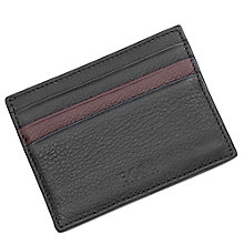 Hugo Boss Milko men's black & brown card holder - Product number 2622564