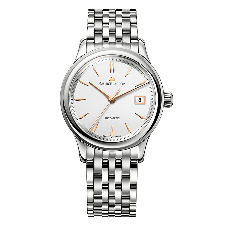 Maurice Lacroix men's stainless steel bracelet watch - Product number 2622785