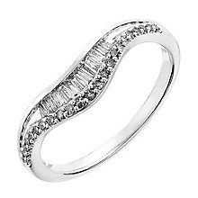 18ct white gold 0.20CT diamond ring - Product number 2630230