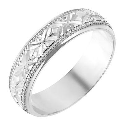 Wedding White Gold Rings HSamuel