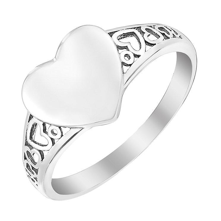 H M Samuel Rings Heart