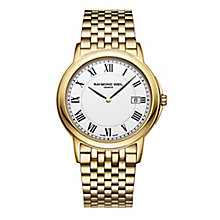Raymond Weil Geneve Men's Gold-plated Bracelet Watch - Product number 2647311