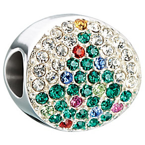 Chamilia Noel/Tree sterling silver Swarovski crystal bead - Product number 2648776