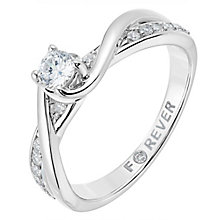 18ct white gold 1/3 carat total Forever Diamond ring - Product number 2775166