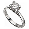 18ct White Gold 1 1/4 Carat Forever Diamond Ring - Product number 2776928