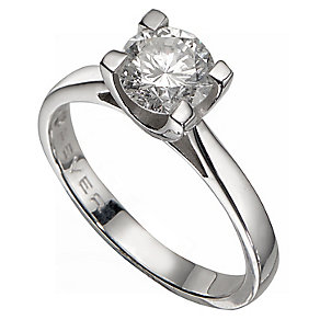 The Forever Diamond 18ct White Gold 1.25 Carat Diamond Ring - Product number 2776928