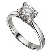 The Forever Diamond 18ct White Gold 1.5 Carat Diamond Ring - Product number 2777061