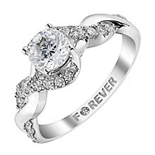 The Forever Diamond 18ct White Gold 1 Carat Diamond Ring - Product number 2777231