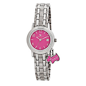 Radley Ladies' Pink Dial & Stainless Steel Bracelet Watch - Product number 2777487