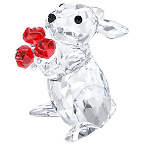 Swarovski Crystal Rabbit With Roses - Product number 2778459