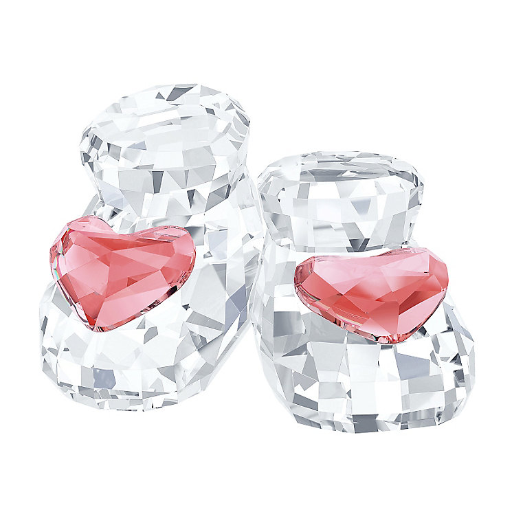 Swarovski Crystal Pink Baby Shoes - Product number 2778513