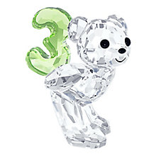 Swarovski Crystal Kris Bear Number Three - Product number 2778785