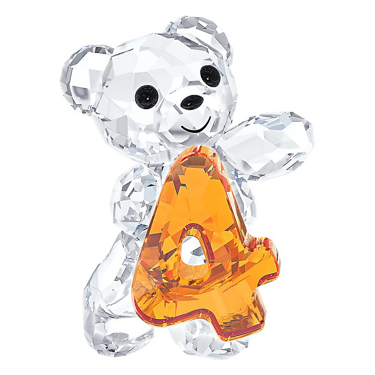 Swarovski Crystal Kris Bear Number Four - Product number 2778793