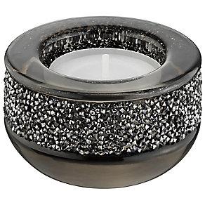Swarovski Dark Grey Shimmering Crystal Candle Holder - Product number 2779021